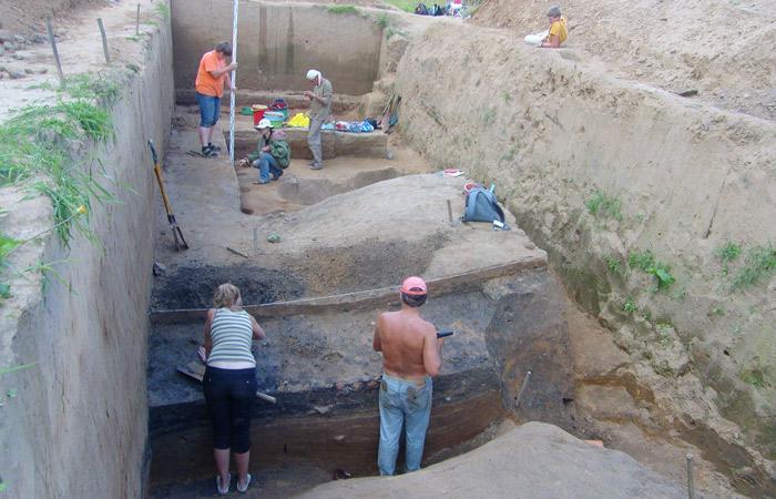 Смоленские раскопки: лето 2009.